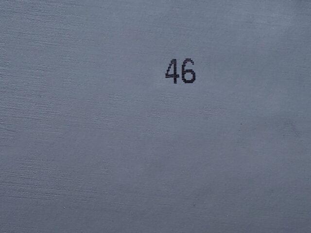 46 серебристый